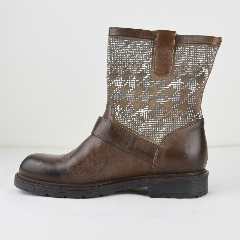 janet sport damen herbst stiefelette boots 34803 leder. Black Bedroom Furniture Sets. Home Design Ideas