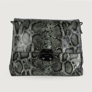ABRO-Damen-Tasche-028651-04-in-Python-Optik-Italienisches-Ziegenleder-NEU-114009269780