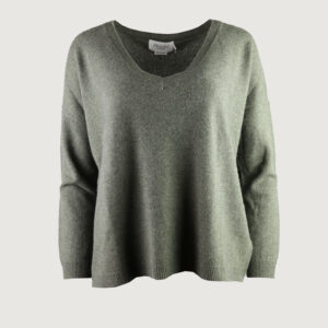 Absolut-Cashmere-Damen-Pullover-V-Neck-AC82019C-Angele-in-Kaki-Gr-S-NEU-114587014050