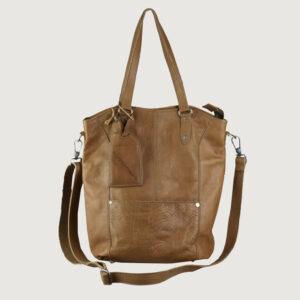 Cowboysbag-Damen-Tasche-1555-135-in-Braun-Leder-NEU-und-Reduziert-114498716421