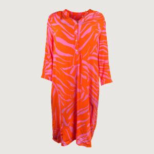 Emily-van-den-Bergh-Damen-Kleid-7384-150690-in-390-orange-pink-Gr-38-44-Neu-114805620131