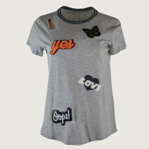 PRINCESS-GOES-HOLLYWOOD-Damen-T-Shirt-in-Grau-Print-175-177627-Gr-36-44-Neu-112928719921