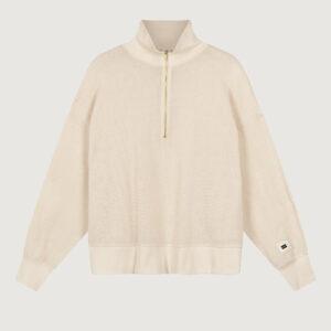 10-Days-Damen-Mesh-Sweater-20-809-1201-in-White-Sand-Gr-38-42-NEU-114729185453