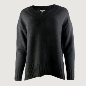 BETTER-RICH-Damen-Pullover-V-NECK-CLEAN-W90174000-in-Schwarz-XS-M-NEU-114435737393