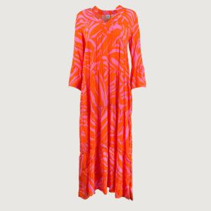 Emily-van-den-Bergh-Damen-Kleid-7384-150920-in-390-orange-pink-Gr-36-44-Neu-114805620613