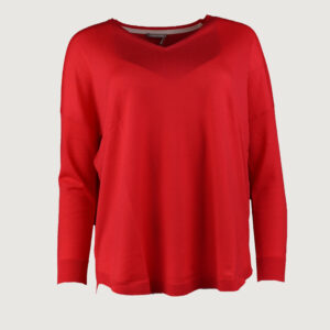 Hemisphere-Damen-Pullover-V-Neck-2014640_17-in-Rot-100-Wolle-Gr-XS-XL-NEU-114131955033