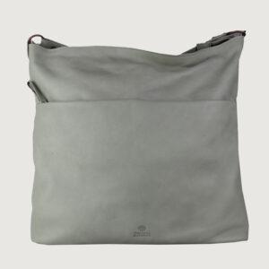 Fred-de-la-Bretoniere-Damen-Tasche-262171-in-Grau-Leder-NEU-und-Reduziert-114498727924