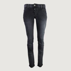 GLUeCKSSTERN-Damen-Jeans-Petra-G2220029-in-Mangangrau-Gr-27-31-Laenge-30-NEU-114486985434