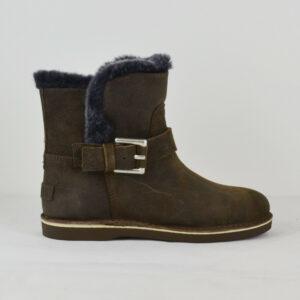 SHABBIES-AMSTERDAM-Damen-Herbst-Boots-202080-Wildleder-Lammfell-Gr-37-41-NEU-114664780044