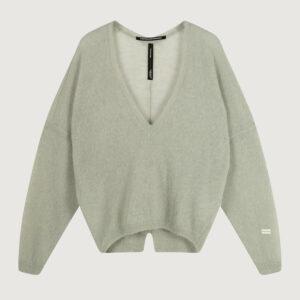 10-Days-Damen-Thin-Sweater-V-Neck-20-600-1202-in-Gruen-Gr-S-XL-NEU-114766072375