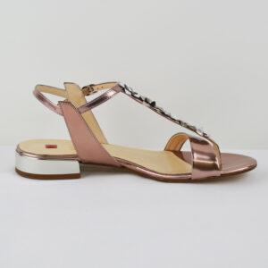 HGL-Damen-Elegante-Sommer-Sandale-3-101124-in-Leder-rose-Gr-36-40-Neu-112487220235