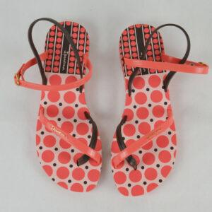 IPANEMA-Damen-Sommer-Zehentrenner-Sandale-pink-brown-8092-Gr-4142-Neu-114295292825