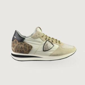 Philippe-Model-Damen-Sneaker-TZLD-WA11-blanc-or-Gr-36-41-NEU-114669825225