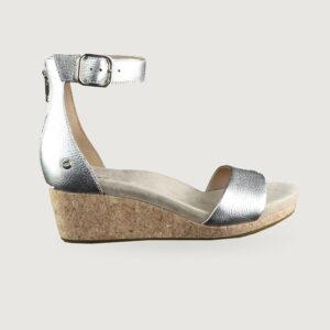 UGG-Damen-Schuhe-Sandaletten-ZOE-II-METALLIC-GR-37-41-NEU-114151014225