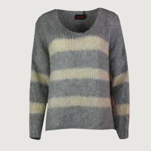 Miss-Goodlife-Damen-Pullover-MG6129-in-Grau-Beige-S-L-NEU-114713466696