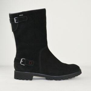 HGL-Damen-Herbst-Winter-Boots-6-102242-Schwarz-Wildled-GORE-TEX-Gr-36-385-Neu-112569169187