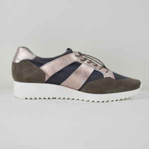 HGL-Damen-Sneaker-3-10-3317-Leder-und-Synthetik-Anthrazit-Gr-36-41-Neu-113948894957