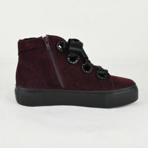 KENNEL-UND-SCHMENGER-Damen-Sneaker-BIG-in-Bordeaux-Leder-81-21730-482-NEU-114007993987
