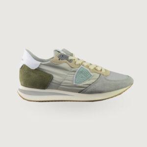 Philippe-Model-Damen-Sneaker-TZLD-W062-Gris-Blanc-Gr-36-42-NEU-114669822427