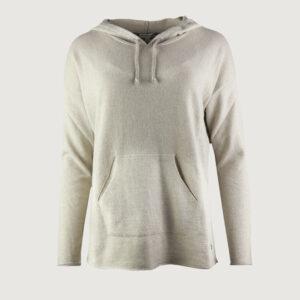 BETTER-RICH-Damen-Pullover-Hoody-Silver-W90094000-in-Dark-Beige-S-XL-NEU-114435745228