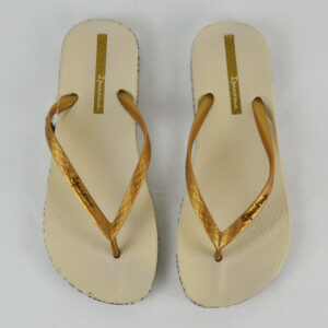 IPANEMA-Damen-Sommer-Zehentrenner-Sandale-beige-gold-8399-Gr-3536-4142-Neu-112992557368