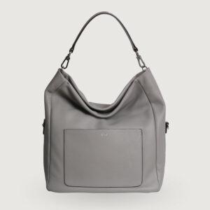 Abro-Handtasche-Beutel-RAQUEL-029402-46-13-in-Light-Grey-NEU-114746764779