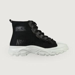 Babouche-Lifestyle-Damen-Sneaker-K-1531-in-Schwarz-Gr-37-40-NEU-114729229359