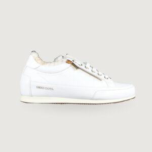 CANDICE-COOPER-Damen-Sneaker-D4257-RpckDeluxe-Zip-Weiss-Leder-Gr-37-41-Neu-113919657259