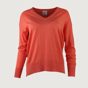 Emily-van-den-Bergh-Damen-Pullover-1084-03-in-Orange-Gr-XS-L-NEU-114214740509