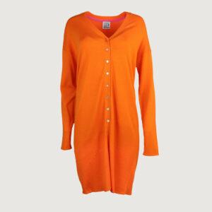 Emily-van-den-Bergh-Damen-Strickjacke-1215-in-Orange-Gr-S-L-NEU-114730146789