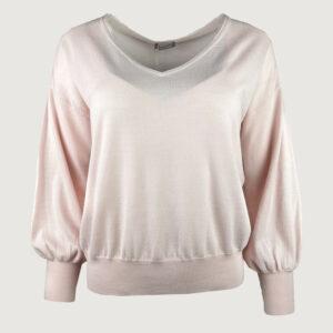 Hemisphere-Damen-Pullover-V-Neck-2114611-17-in-pink-sand-Gr-34-38-NEU-114805616149