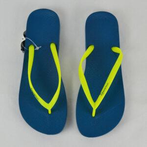 IPANEMA-Damen-Sommer-Zehentrenner-Sandale-blue-yellow-23149-Gr-37-4142-Neu-112993003959