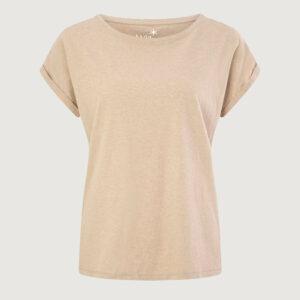 JUVIA-Damen-T-Shirt-810-13-177-Boxy-Shirt-in-Caramel-Gr-S-XL-NEU-114811956099